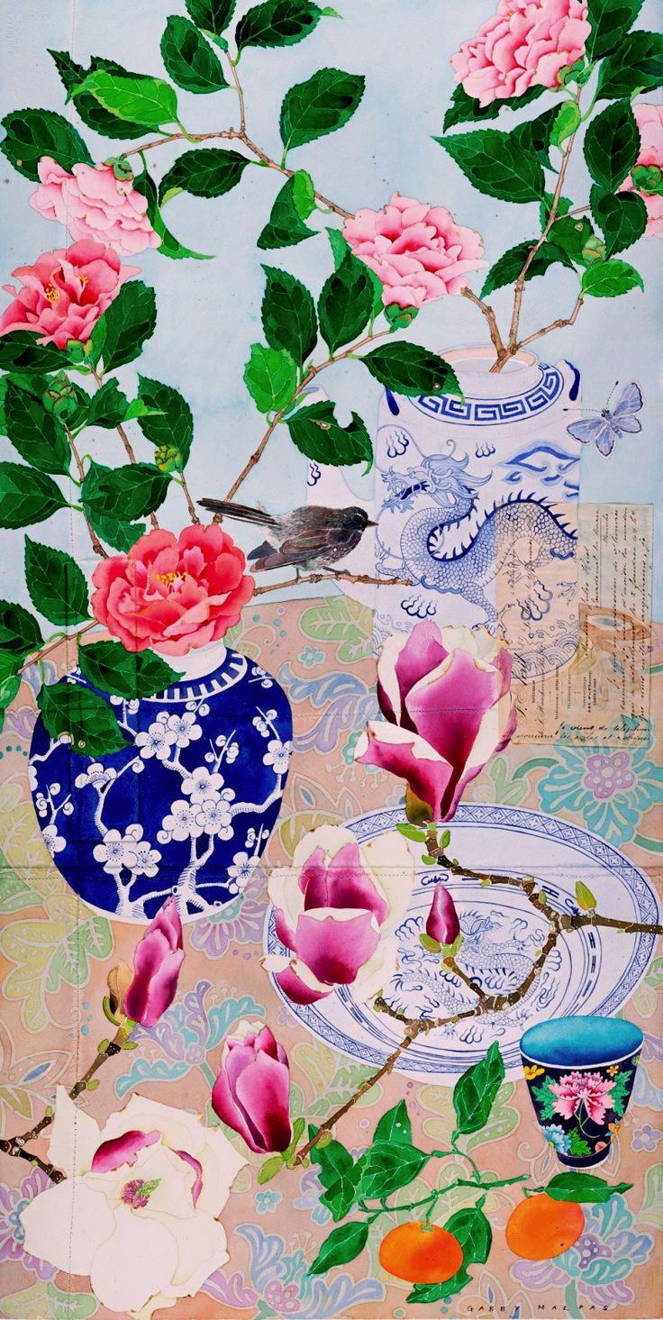 Gabby Malpas  —  Sydney Winter Flowers (792x1577)