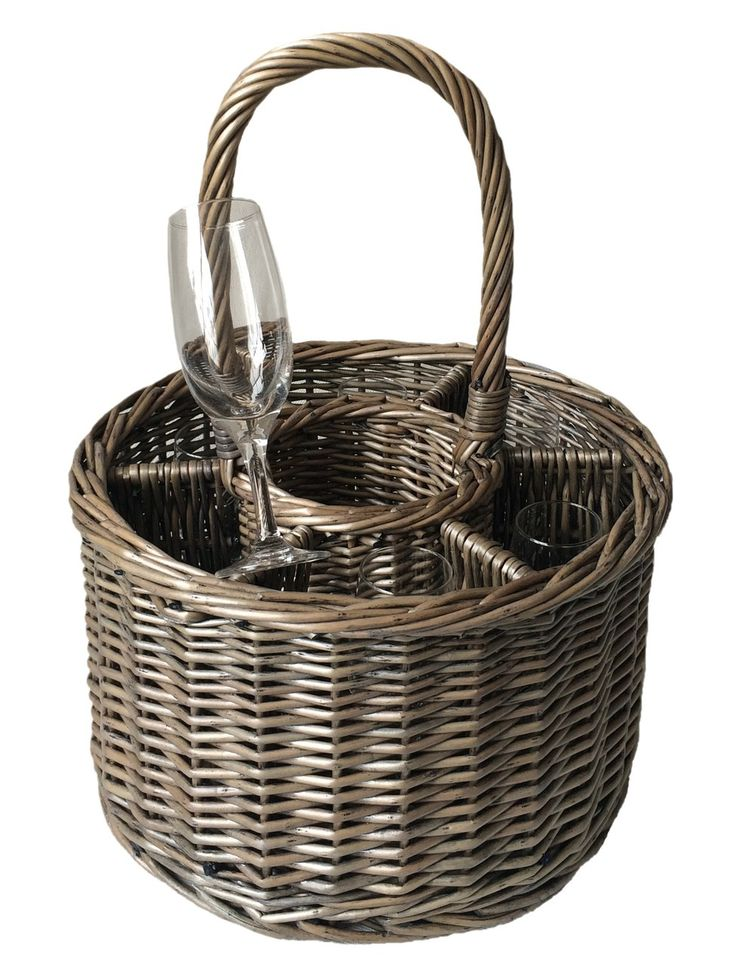 Special Event Basket Wicker Basket Wine Glasses - http://redhamper.co.uk/special-event-basket-wicker-basket-wine-glasses/ #drinksbaskets #shoppingbaskets