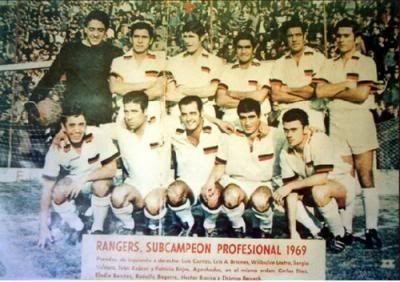 Rangers 1969. Subcampeón.