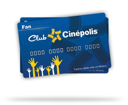 Tarjeta Club Cinépolis