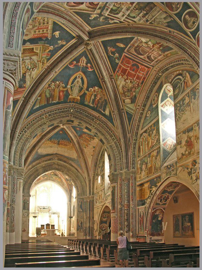 Basilica of Saint Catherine of Alexandria, 1391- Galatina, Puglia, Italy
