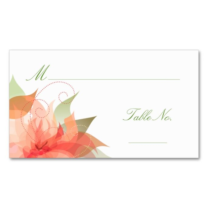 1177 best images about modern abstract business cards on for Double sided place card template