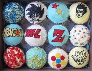 Dragon Ball Z cupcakes! #DBZ #MeGusta