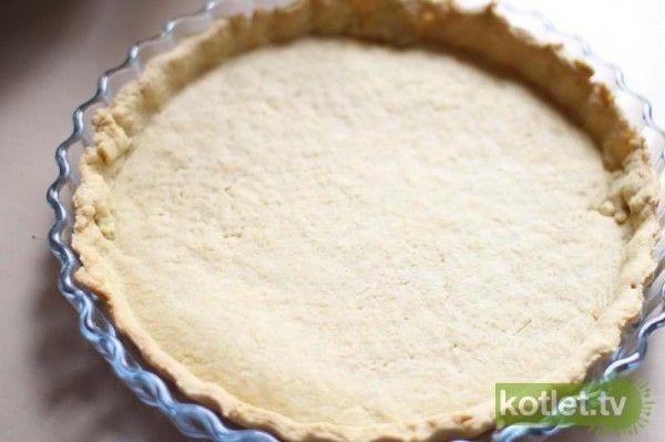 dobry przepis na ciasto do quiche, a przy okazji podstawowy sos śmietanowy do zalania tart wytrawnych