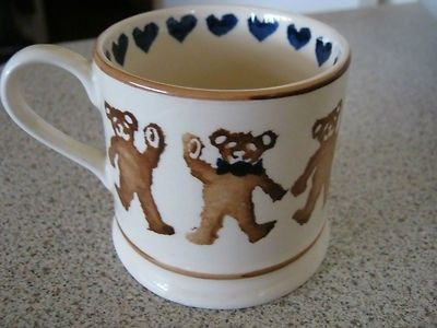 Teddies (Blue) Baby Mug 1986-1988 (Discontinued)