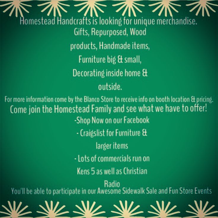 24 best Homestead Handcrafts Vendors\' Booths images on Pinterest ...