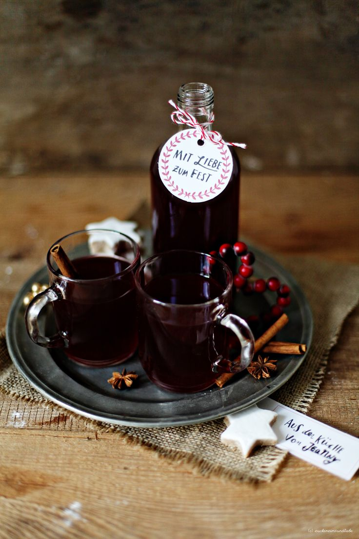 EDEKA MIT LIEBE Punsch Weihnachten Rezept Zuckerzimtundliebe Foodblog