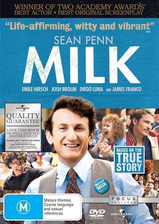 #Check out Milk DVD R4 ( 2008 ) Sean Penn  https://www.ebay.com.au/itm/162700293971?roken=cUgayN&soutkn=qHSPdn via @eBay