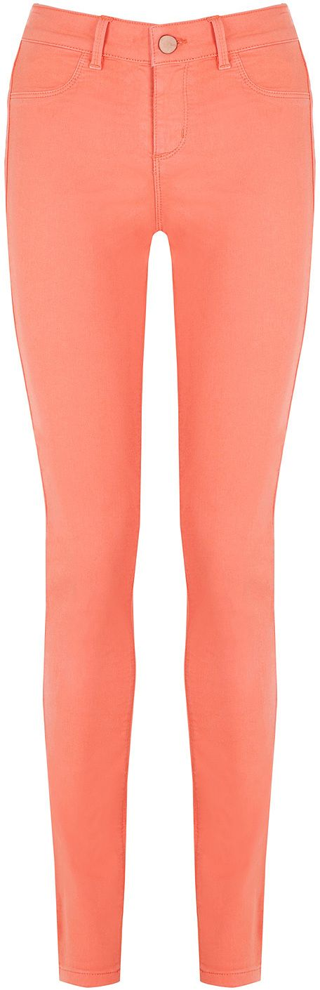 Womens coral coloured jade from Oasis - £38 at ClothingByColour.com