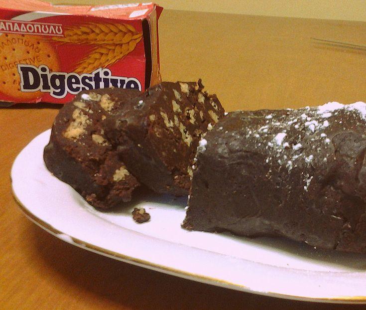Συνταγές που αρέσουν...: Νηστίσιμος Κορμός σοκολάτας