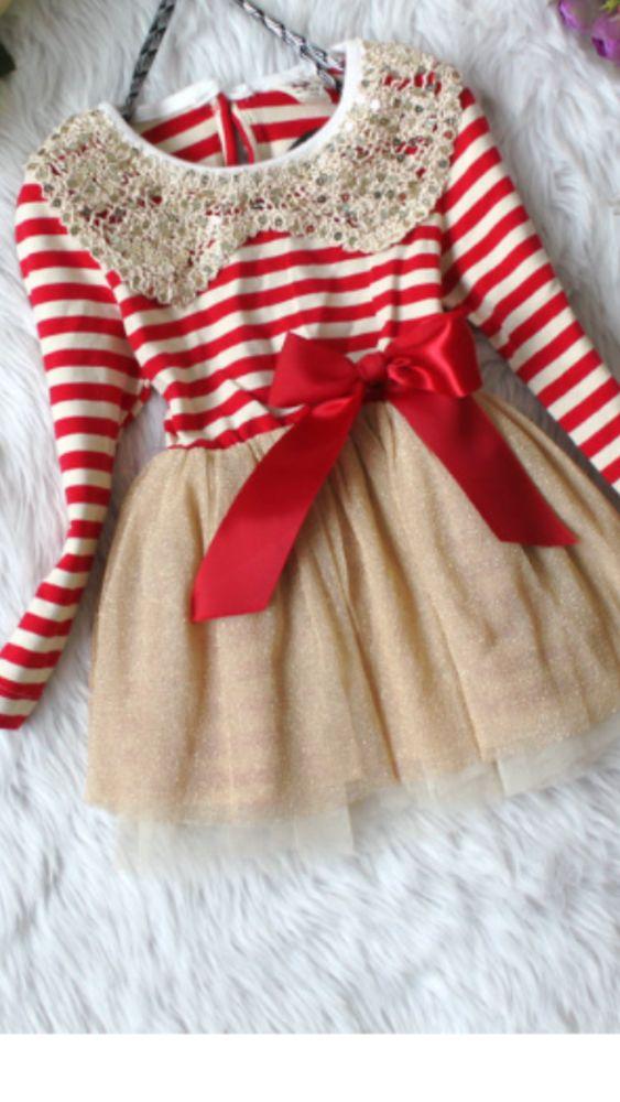 Cute Christmas toddler dress