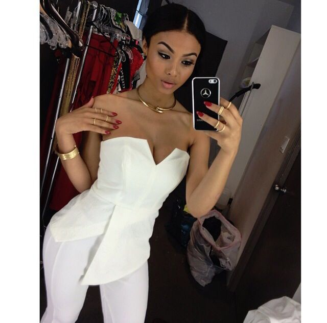 India Westbrooks Pretty Girl Swag Dope Streetwear Urban Fashion Style Snapback Mixed Chicks