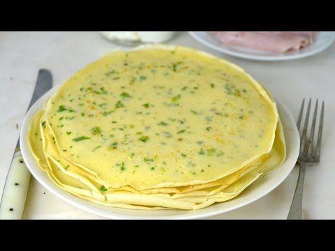 Cómo hacer crepes salados para rellenar | Cuuking! Recetas de cocina