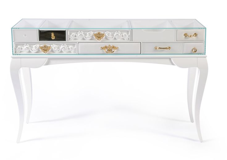 York White Console Table by Boca do Lobo    It excels by being one of the most classic additions to Soho Collection, and fits perfectly a modern entrance hall, bringing an elegant touch to any decor   Discover more about Soho Collection: www.bocadolobo.com