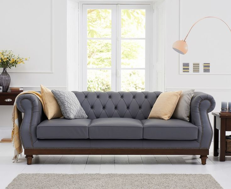 Halwell Grey Leather 3 Seater Sofa With Dark Ash Wood Legs   This Halwell Grey Leather 3 Seater Sofa With Dark Ash Wood Legs has finish and Fully Assembled.   https://www.bonsoni.com/halwell-grey-leather-3-seater-sofa-with-dark-ash-wood-legs