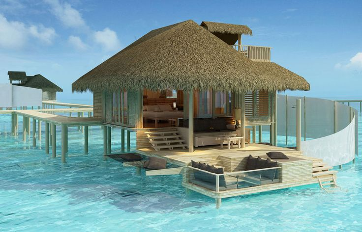 Maldives Resort Cottage with Awesome DesignBeach House, Dreams Vacations, Dream Vacations, Best Quality, Islands, Honeymoons, The Maldives, Places, Borabora