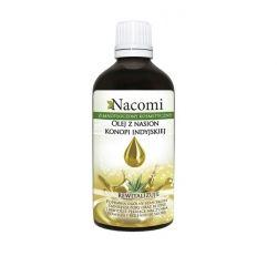 Olej z Nasion Konopi Indyjskiej 30 ml Nacomi Rewitalizuje, zmniejsza pory oraz blizny, likwiduje pękające naczynka, nawilża i regeneruje skórę