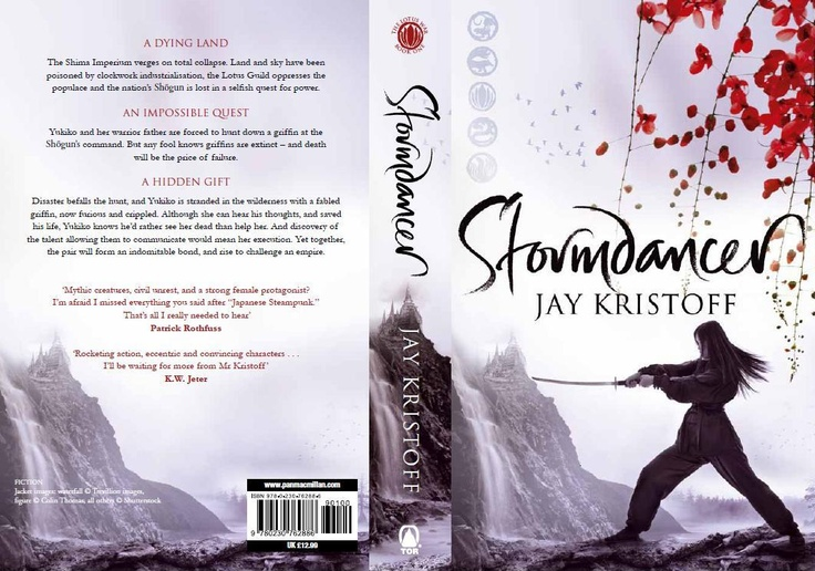 Stormdancer - full trade paperback edition cover