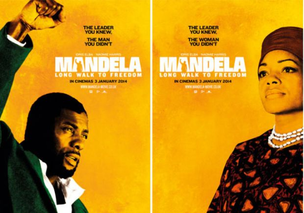 Watch Idris Elba & Naomie Harris As Nelson and Winnie Mandela in FULL 'Mandela: Long Walk to Freedom' Trailer