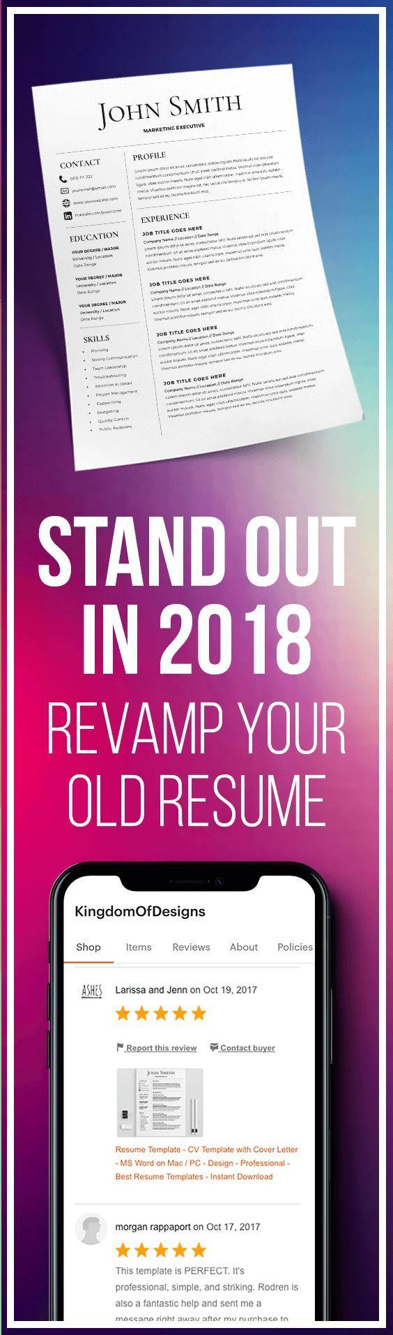 2017 resume templates free