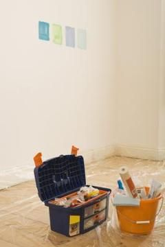 Website gives tips on painting over semi gloss paint. Info from site : Before painting, decide if the walls are painted with a water- or oil-based paint. Choose a satin paint with the same base in a similar color.