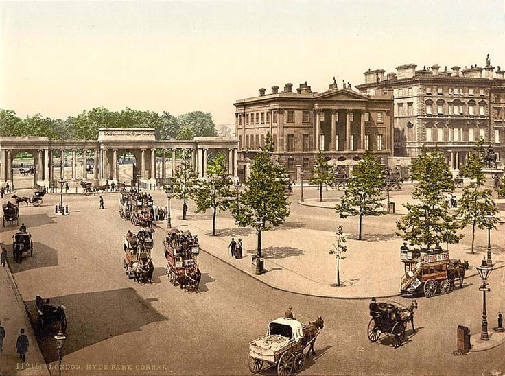London, Hyde Park Corner. 1890's