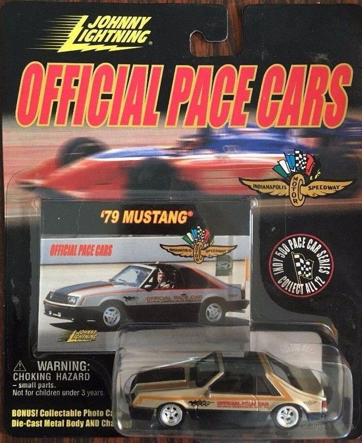 2000 Johnny Lightning OFFICIAL PACE CARS '79 Ford Mustang INDY 500 1/64 DieCast