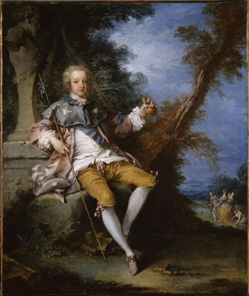 Louis XV as an adolescent, early 18th century, French school (credit:  © RMN-Grand Palais (Château de Versailles) / Gérard Blot]