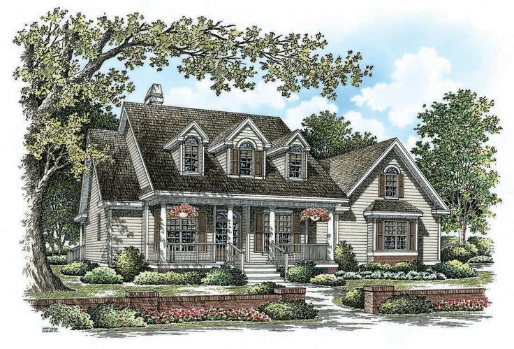 1617 Sqft Frog House Plan The Cassady By Donald A