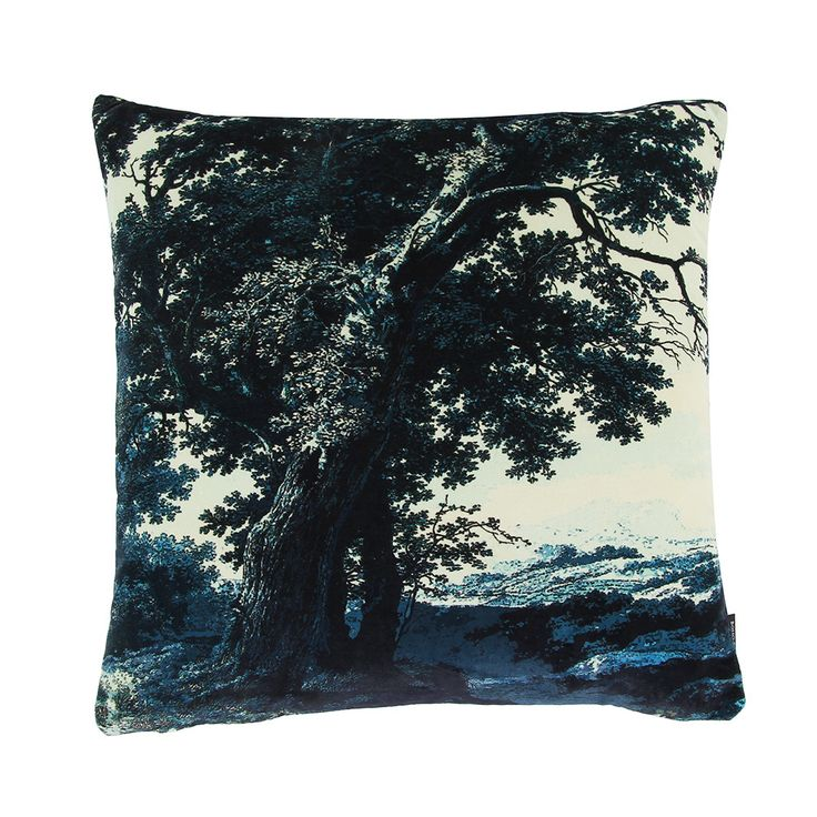 Update your interior space with this gorgeous Trees Two cushion from Boho & Co. This stunning cushion is made with luxuriously soft velvet and an indulgent feather filled inner pad. Adorned with a ...