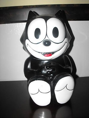 Felix the Cat Cookie Jar  (in my collection)Neat Cookies, Cookies Crumb, Character Cookies, Cat Cookies, Cookie'S Jars, Cookie Jars, Cutest Cookies, Cookies Please, Cookies Jars