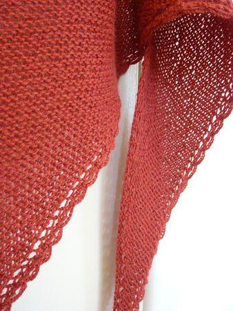 Modèle de tricot gratuit : Tomato Shawl Téléchargé