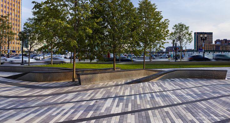 Mikyoung kim design pier 4 plazamikyoung kim design for Paving planner