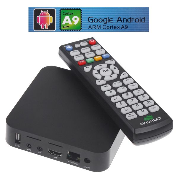 google hd 1080p android 4.0 smart tv box media player