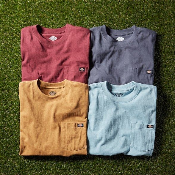 "2,186 Beğenme, 10 Yorum - Instagram'da Dickies (@dickies): ""Fresh new colors, ready for summer. Shop our Short Sleeve Tee now, link in bio. #DickiesWorkwear"""