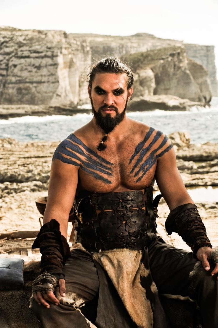 Jason Momoa. Khal Drogo, Juego de Tronos, T. 1ª (Game of Thrones)