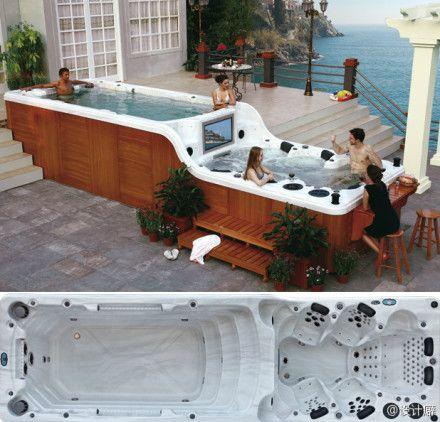 Ultimate Jacuzzi: Dreams Houses, Idea, Jacuzzi, Awesome, Swim Pools, Spas, Hottubs, Hot Tubs, Backyard