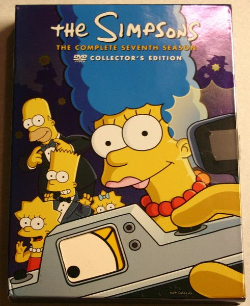The Simpsons: Season 7 1995-96 Complete Box Collectors Edition Set DVDs With All Inserts Previously Viewed & Tested.