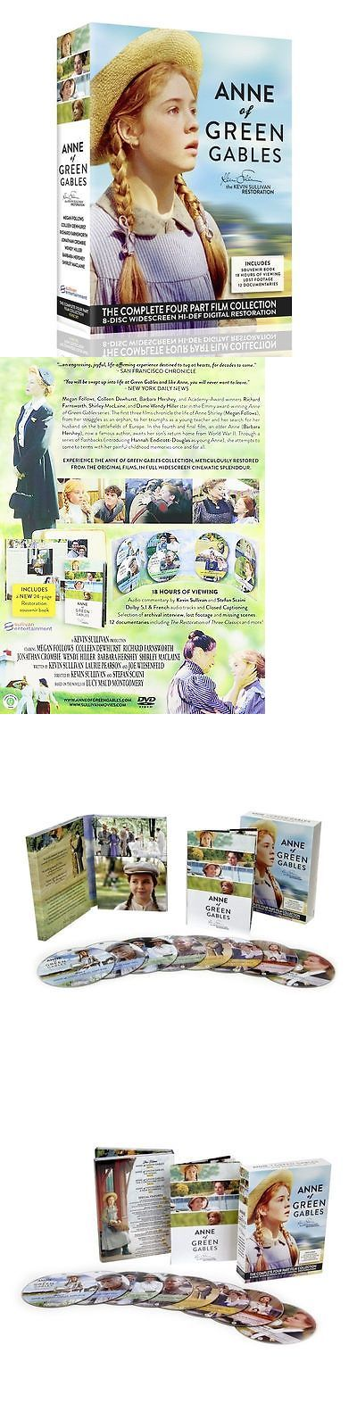 cds dvds vhs: Anne Of Green Gables Complete Collection New Sealed 8 Dvd Set Remastered BUY IT NOW ONLY: $77.0