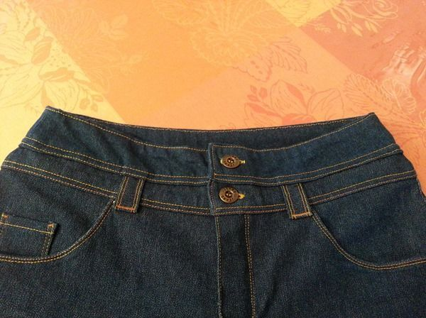 transformer un jean taille basse en taille haute