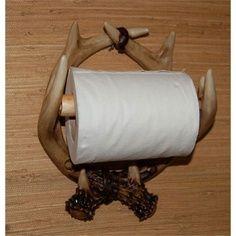 Crafts Made with Deer Antlers   Deer Antler Toilet Paper Holder Craft Tex Ladybug Paper Holders Toilet ...