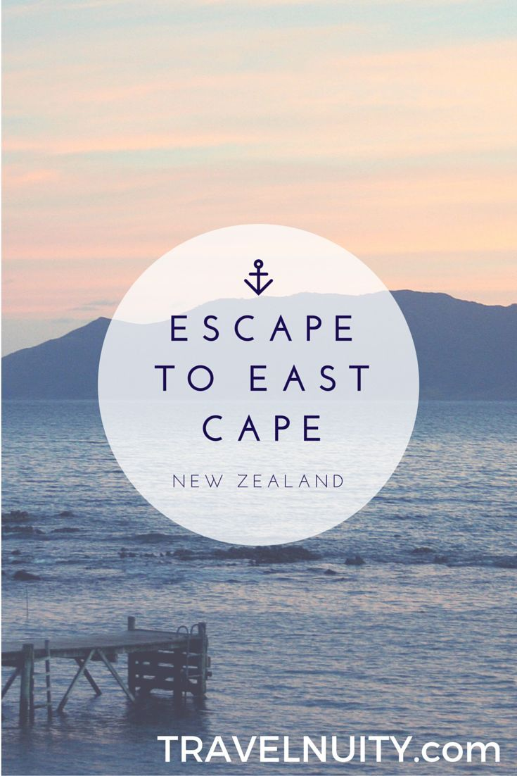 Escape to East Cape, New Zealand #remote #nz