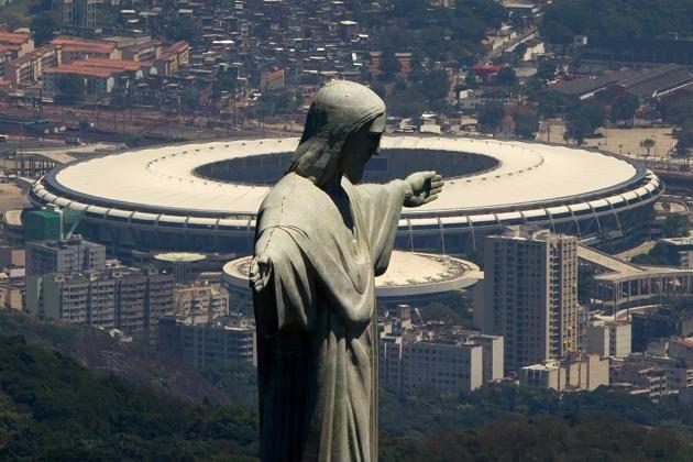 Maracana Stadium, Rio De Janeiro, Brazil - FIFA World Cup 2014 Venue