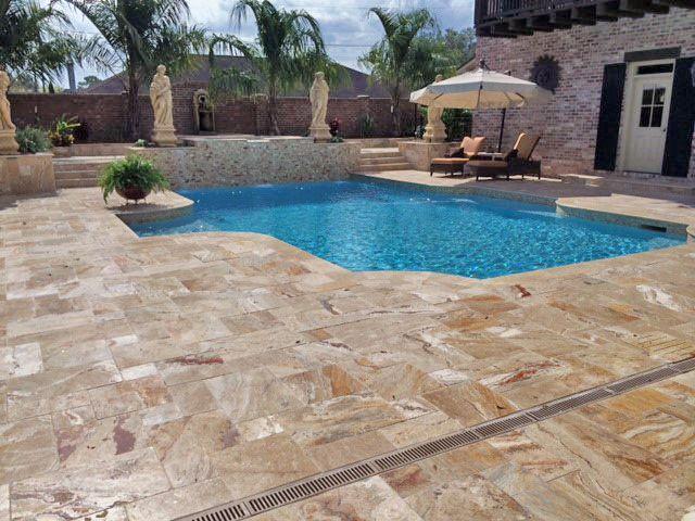 46 best travertine pools & patios images on pinterest   patios