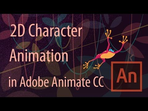 How to Make 2D Character Animation in Adobe Animate CC - 2016 - YouTube