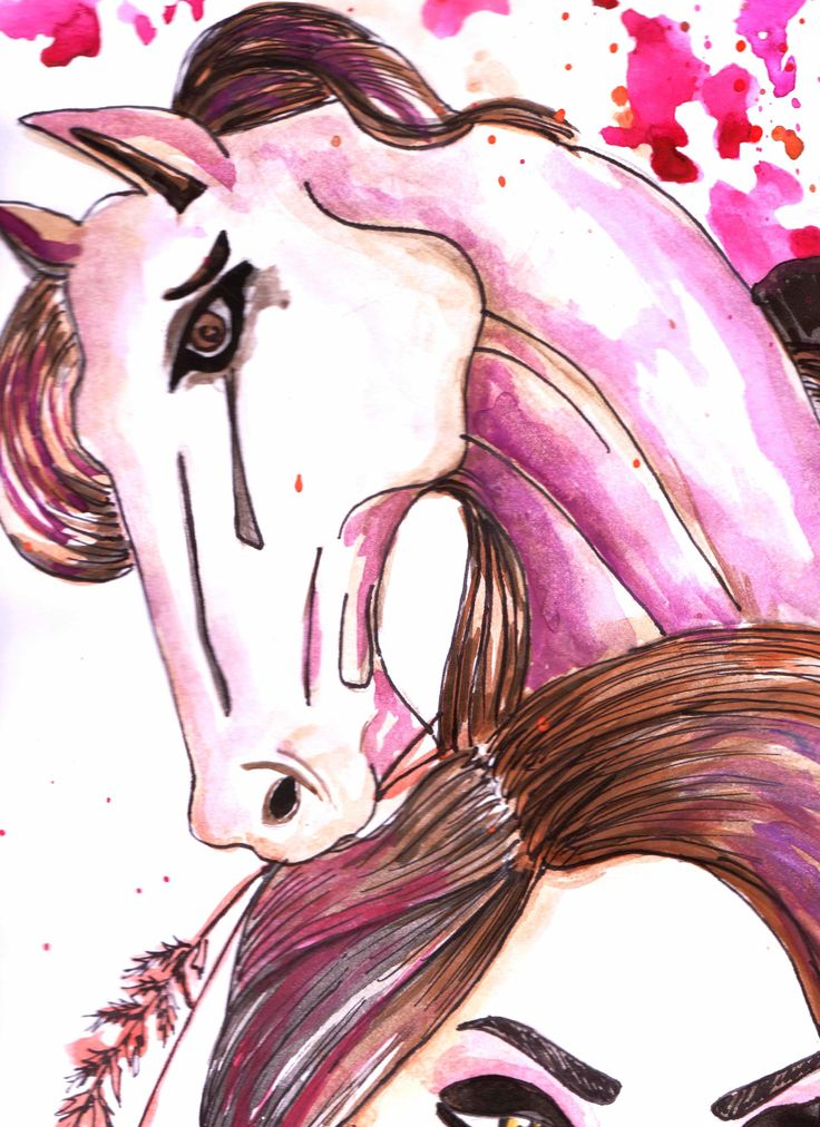 Caballo . Metamorfosis Femenina / Ilustration By Eins Artist