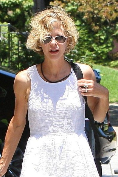 Meg Ryan Photos - Meg Ryan and John Mellencamp Out in Hollywood - Zimbio