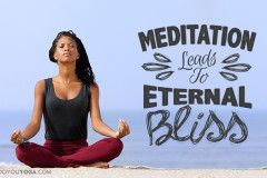 Why taking time out to meditate can prove beneficial.
