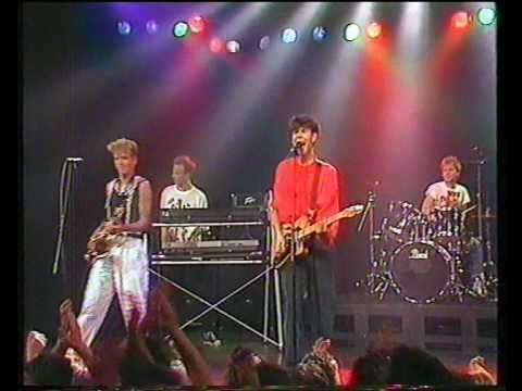 Roberto Jacketti & The Scooters - Soul Of Rock and Roll bij Countdown 1986