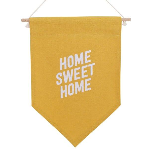 32€ -Summer Boyfriend Bannière Home sweet Home